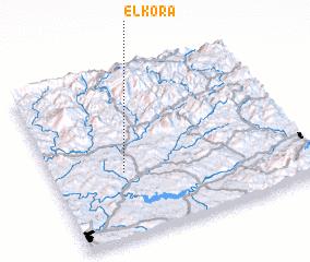 3d view of El Kora