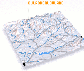 3d view of Oulad Ben Loulane