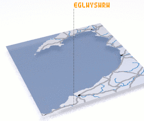 3d view of Eglwyswrw