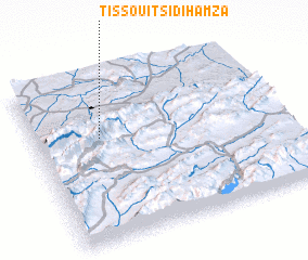 3d view of Tissouit Sidi Hamza