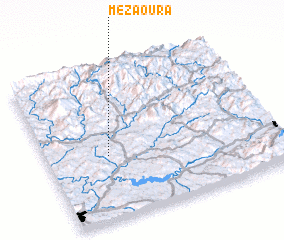 3d view of Mezaoura