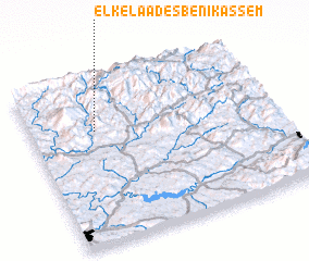 3d view of El Kelaa des Beni Kassem