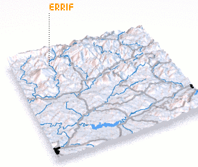 3d view of Er Rif