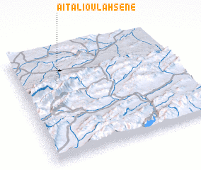 3d view of Aït Ali Ou Lahsene