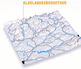 3d view of El Kelaa des Beni Kitoun