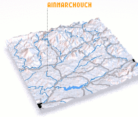 3d view of Aïn Marchouch