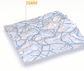3d view of Zgane