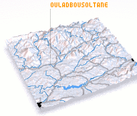 3d view of Oulad Bou Soltane