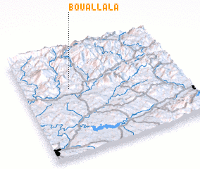 3d view of Bou Allala