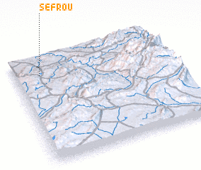3d view of Sefrou