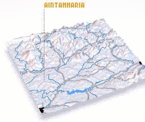 3d view of Aïn Tammaria
