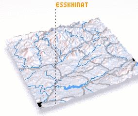 3d view of Es Skhinat
