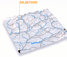 3d view of Oulad Toumi