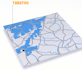 3d view of Tabatou