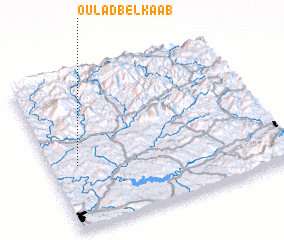 3d view of Oulad Bel Kaab