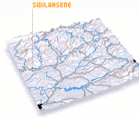 3d view of Sidi Lahsene