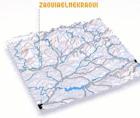 3d view of Zaouia el Mekraoui