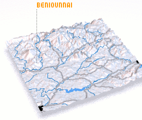 3d view of Beni Ounnaï