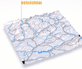 3d view of Beni Ounnaï