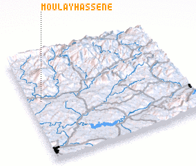 3d view of Moulay Hassene