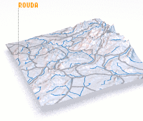 3d view of Rouda