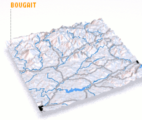 3d view of Bou gaït