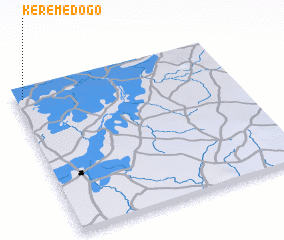 3d view of Kérémédogo