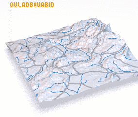 3d view of Oulad Bou Abid