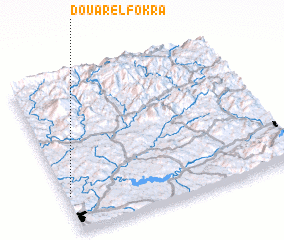 3d view of Douar el Fokra