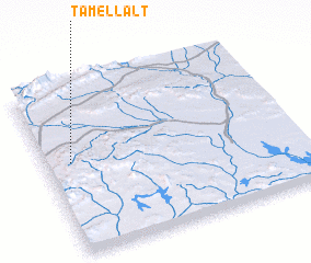 3d view of Tamellalt