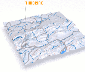 3d view of Tihidrine