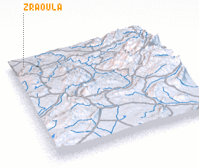 3d view of Zraoula
