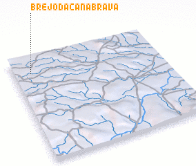 3d view of Brejo da Canabrava