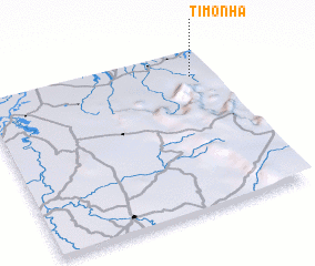 3d view of Timonha