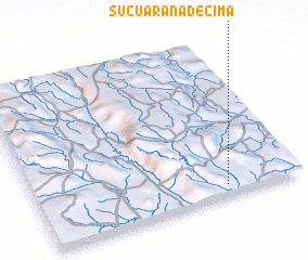 3d view of Suçuarana de Cima