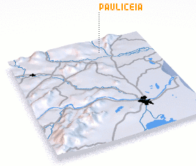 3d view of Paulicéia