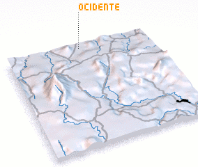 3d view of Ocidente