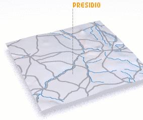 3d view of Presídio