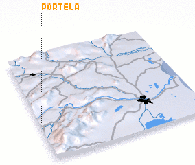 3d view of Portela