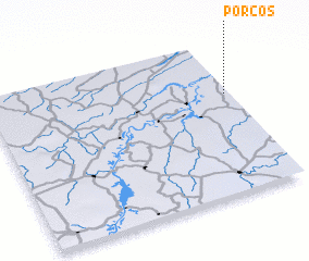 3d view of Porcos