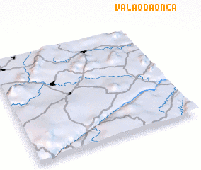 3d view of Valão da Onça