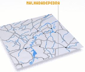 3d view of Malhada de Pedra