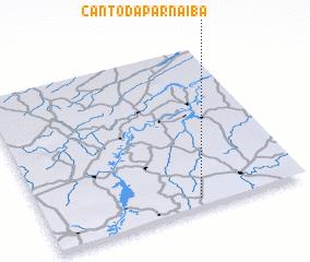 3d view of Canto da Parnaíba