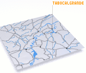 3d view of Tabocal Grande