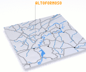 3d view of Alto Formoso