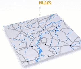 3d view of Pilões