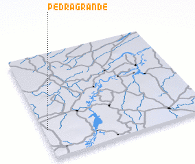3d view of Pedra Grande