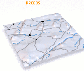 3d view of Pregos