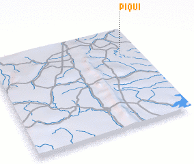 3d view of Piqui