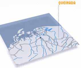 3d view of Queimada